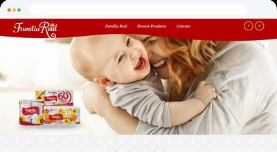 Criação de Site Profissional para Família Real Papéis