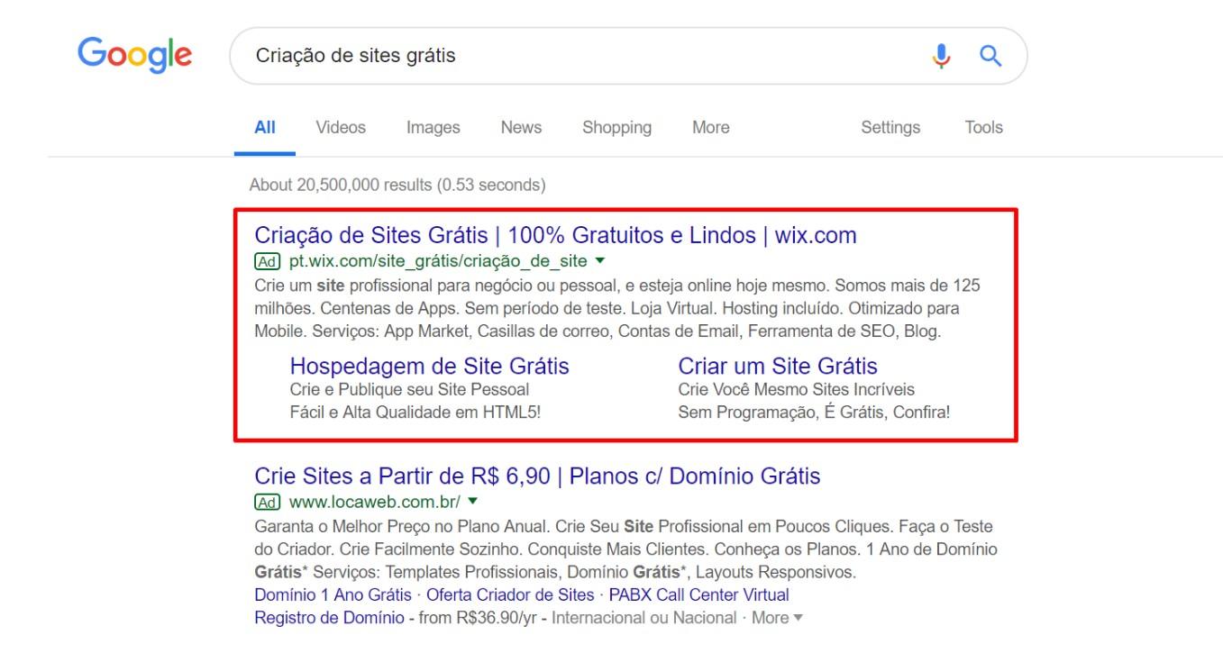 [Não Existe] Criação de Site Grátis. 1 ABC SITES Criação de Sites e Lojas Virtuais